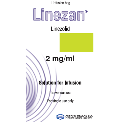 Linezolid 2mg/ml (300ml Plastic Bag)