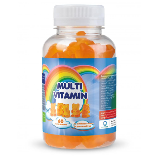 Multivitamin pectin gummies