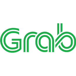 Grab ride sharing logo