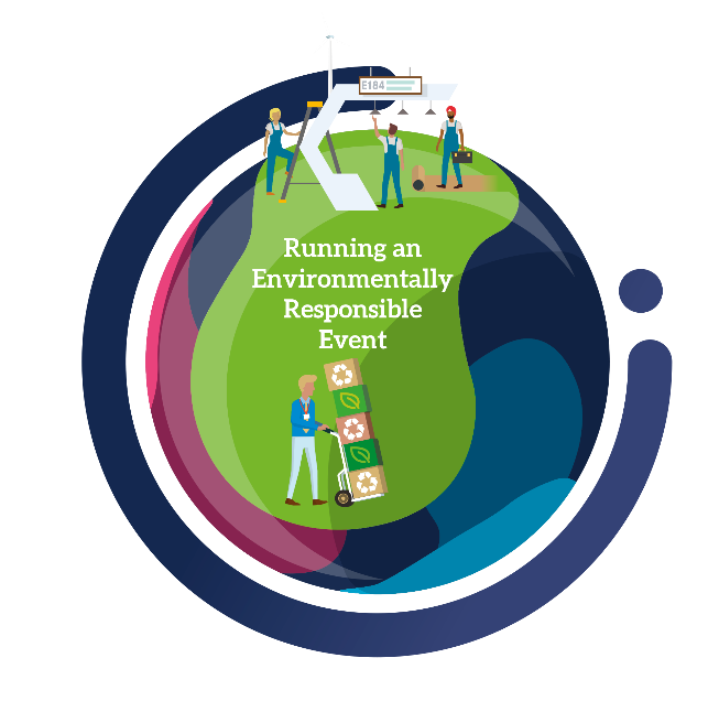 Run the event in an increasingly environmentally responsible manner